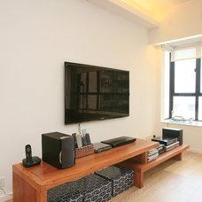Contemporary Living Room by Clifton Leung Design Workshop - CLDW.com.hk