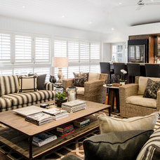 Beach Style Living Room by Highgate House