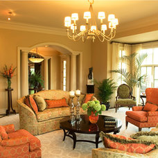Traditional Living Room by Carolyn Rand Interior Design, Ltd.