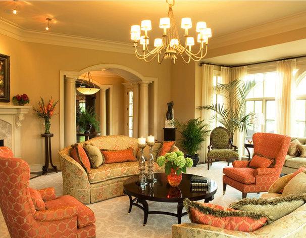 Traditional Living Room by Carolyn Rand Interior Design, Ltd.