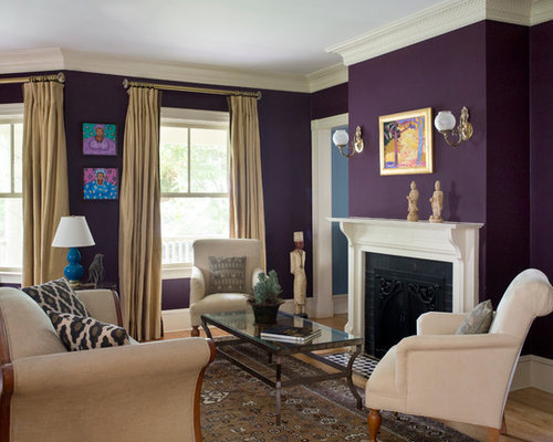 Purple Living Room Ideas Pictures Remodel And Decor