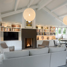 Contemporary Living Room by Drawing Dept