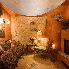 Mediterranean Living Room by Hayne Interior Design