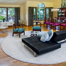 Eclectic Living Room by Benning Design Associates