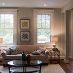 Somerville Contemporary Contemporary Living Room
