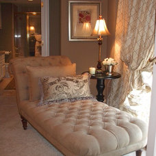 Traditional Living Room by Perkins Design Group