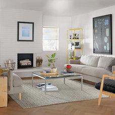 Modern Living Room by Room & Board