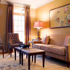 Asian Living Room by Decor & You DC