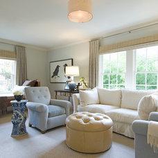 Modern Living Room by Isler Homes