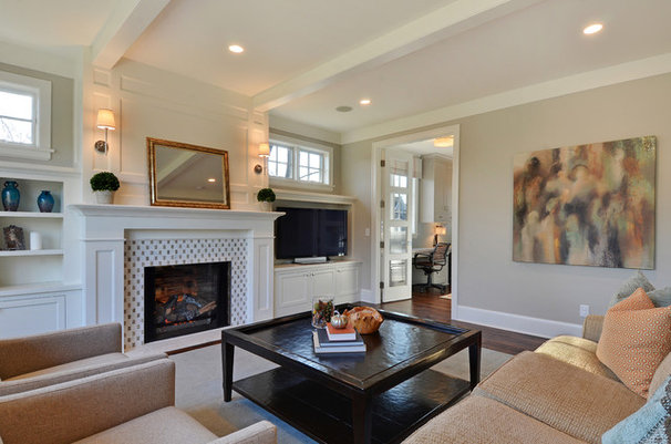 Contemporary Living Room by Great Neighborhood Homes