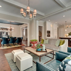 Traditional Living Room by Spacecrafting / Architectural Photography
