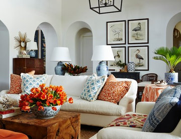Great Room and Living Room in Naples Florida vacation home