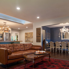 Traditional Living Room by Ayelet Designs