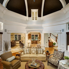 Traditional Living Room by Camens Architectural Group, LLC