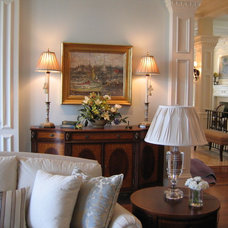 Traditional Living Room by Christine Bhe, Bhe Design LLC