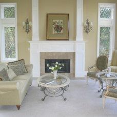 Traditional Living Room by Design Studio -Teri Koss
