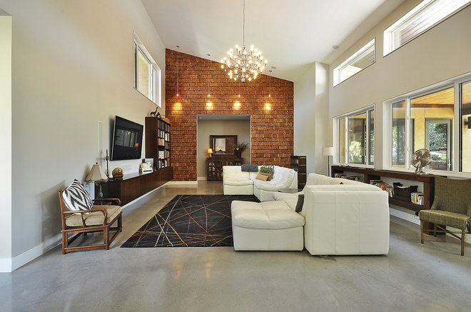Modern Living Room by Ecolution Design Solutions