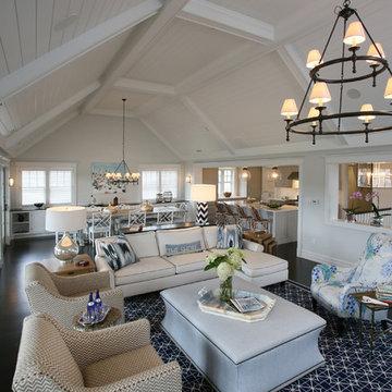 Great Room, Family Summer Home, Stone Harbor, NJ
