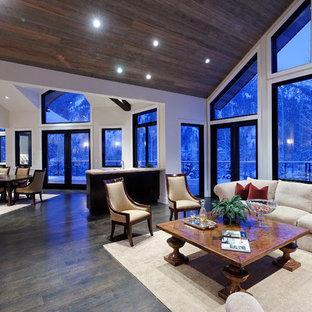 75 most popular rustic blue living room design ideas for 2019 stylish rustic blue living room - Open living room ideas ...