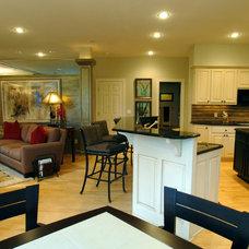 Contemporary Living Room by Gabberts Design Studio