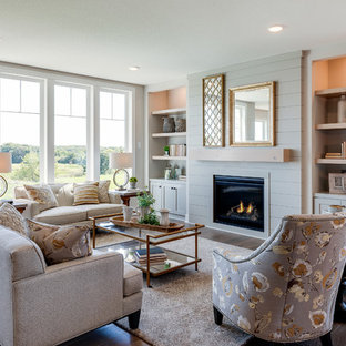Must See Living Room Library With A