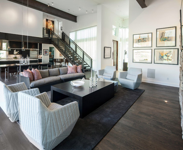 Contemporary Living Room by Jaffa Group Design Build