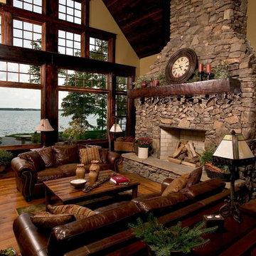 Great Room - Lower Whitefish Lake 1