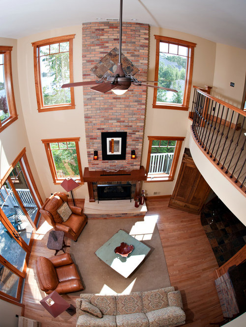 Arts and crafts living room design ideas renovations Arts and crafts living room ideas