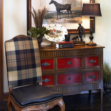 Traditional Living Room by Nancy Woodhouse, Allied ASID