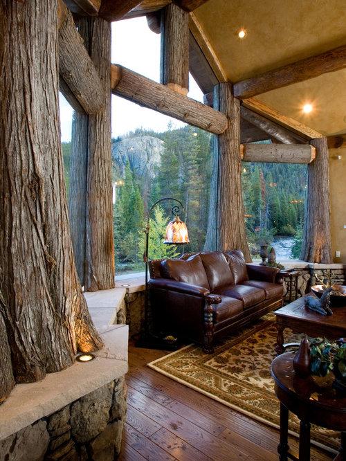 Log Home Living   Houzz