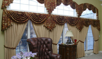Great room wall-of-window treatments