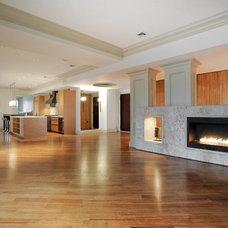 Contemporary Living Room by ZeroEnergy Design
