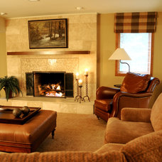 Traditional Living Room by J Parker McCollum, Inc.