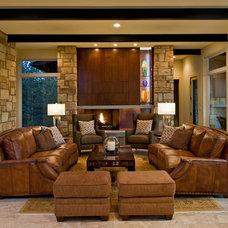 Living Room by Jenkins Custom Homes