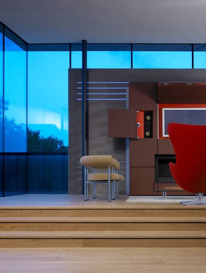 Modern Living Room by David Churchill - Architectural  Photographer