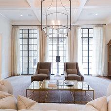 Transitional Living Room by Satori Homes & Renovations