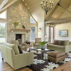 Traditional Living Room by Color Craftsmen