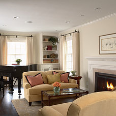 Traditional Living Room by TreHus Architects+Interior Designers+Builders