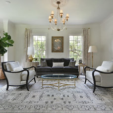 Traditional Living Room by FIG Home