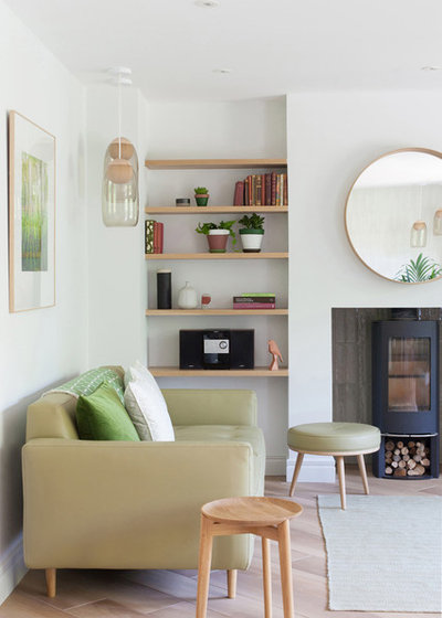Scandinavian Living Room by colour + shape