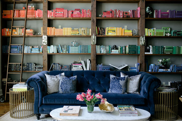 Contemporary Living Room by Crowell + Co. Interiors