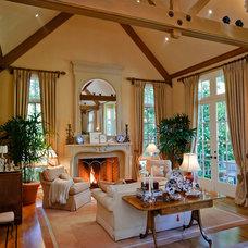 Mediterranean Living Room by Dennis Mayer, Photographer