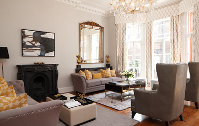 Houzz Tour: A Light and Airy London Apartment