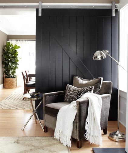 Contemporary Living Room by Urrutia Design