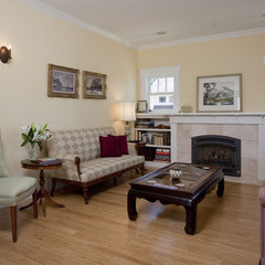 traditional living room by Ventana Construction LLC