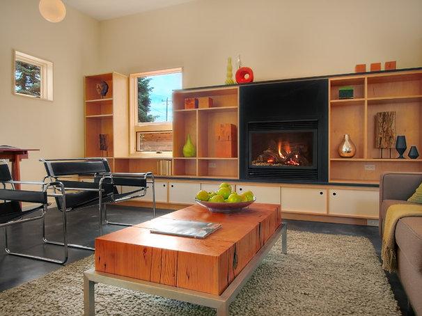 Modern Living Room by Fivedot Design Build