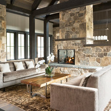 Contemporary Living Room by The Berry Group