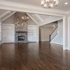 Indirect Led Up Lighting Craftsman Living Room