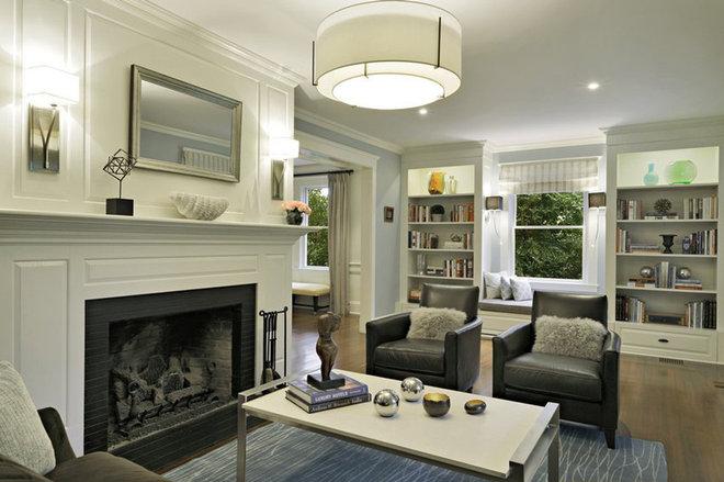 Contemporary Living Room by Luminosus Designs LLC