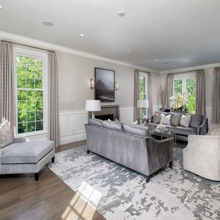 Grey And Beige Tones Living Room Ideas & Photos | Houzz